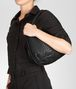 BOTTEGA VENETA Nero Intrecciato Nappa Bag Shoulder or hobo bag D ap