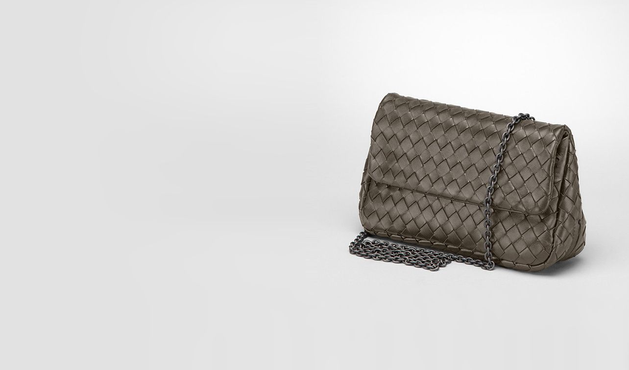 BOTTEGA VENETA Crossbody bag D Intrecciato Nappa Messenger Mini Bag pl