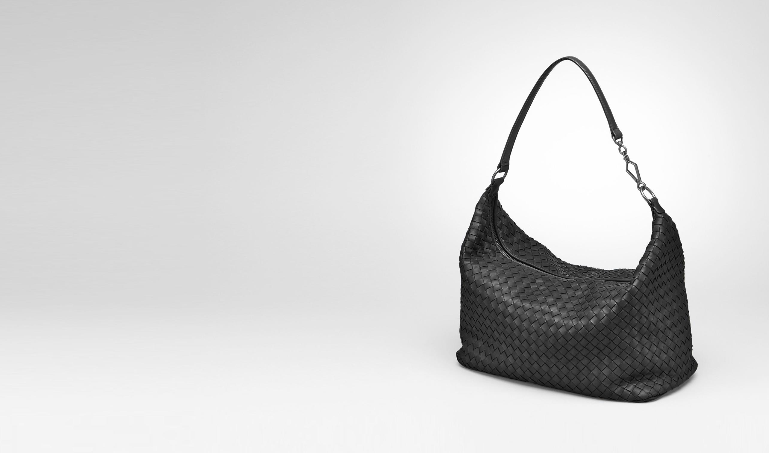 BOTTEGA VENETA Shoulder or hobo bag D Nero Intrecciato Nappa Bag pl