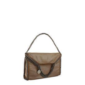 Falabella Tote Bag mit Überschlag aus Chamois