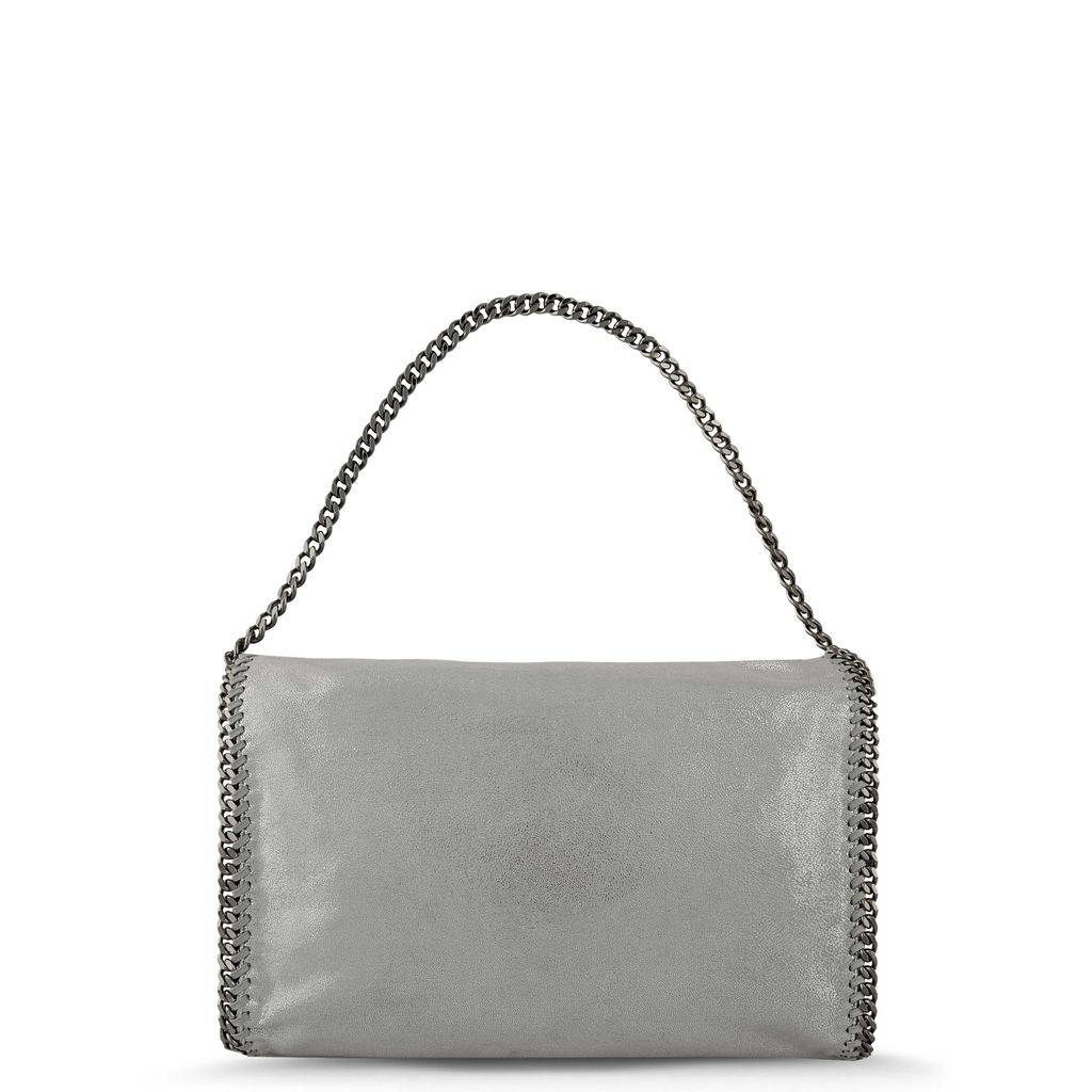 Tote Bag Falabella Fold Over en Chamois - STELLA MCCARTNEY