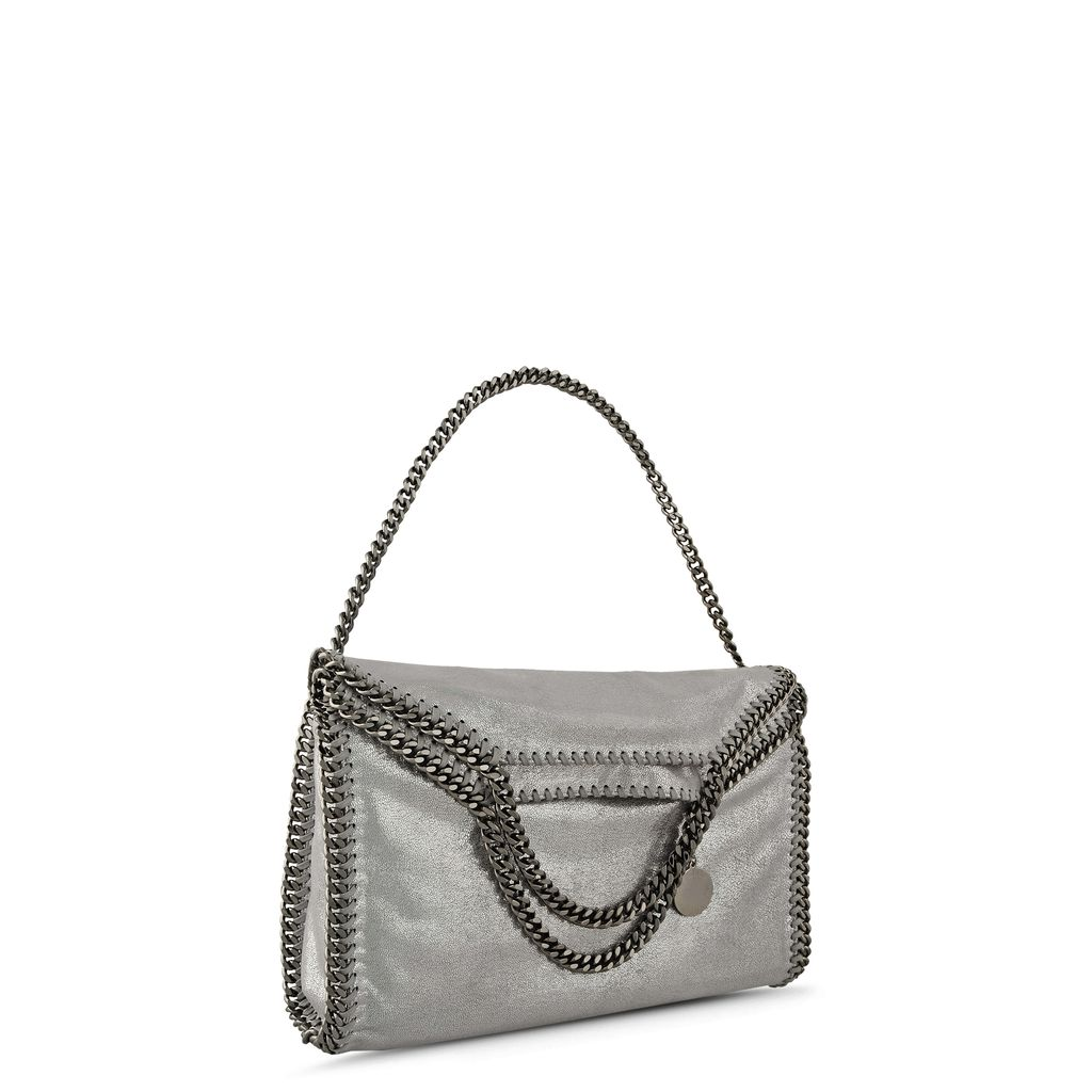 Falabella Chamois Fold Over Tote  - STELLA MCCARTNEY