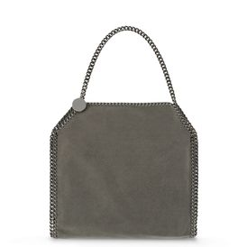 STELLA McCARTNEY Tote D Black Falabella Shaggy Deer Small Tote f