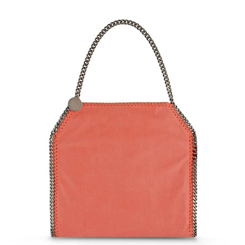 Black Falabella Shaggy Deer Small Tote  - STELLA MCCARTNEY