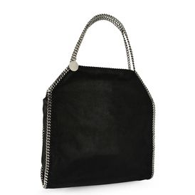 Light Grey Falabella Shaggy Deer Big Tote
