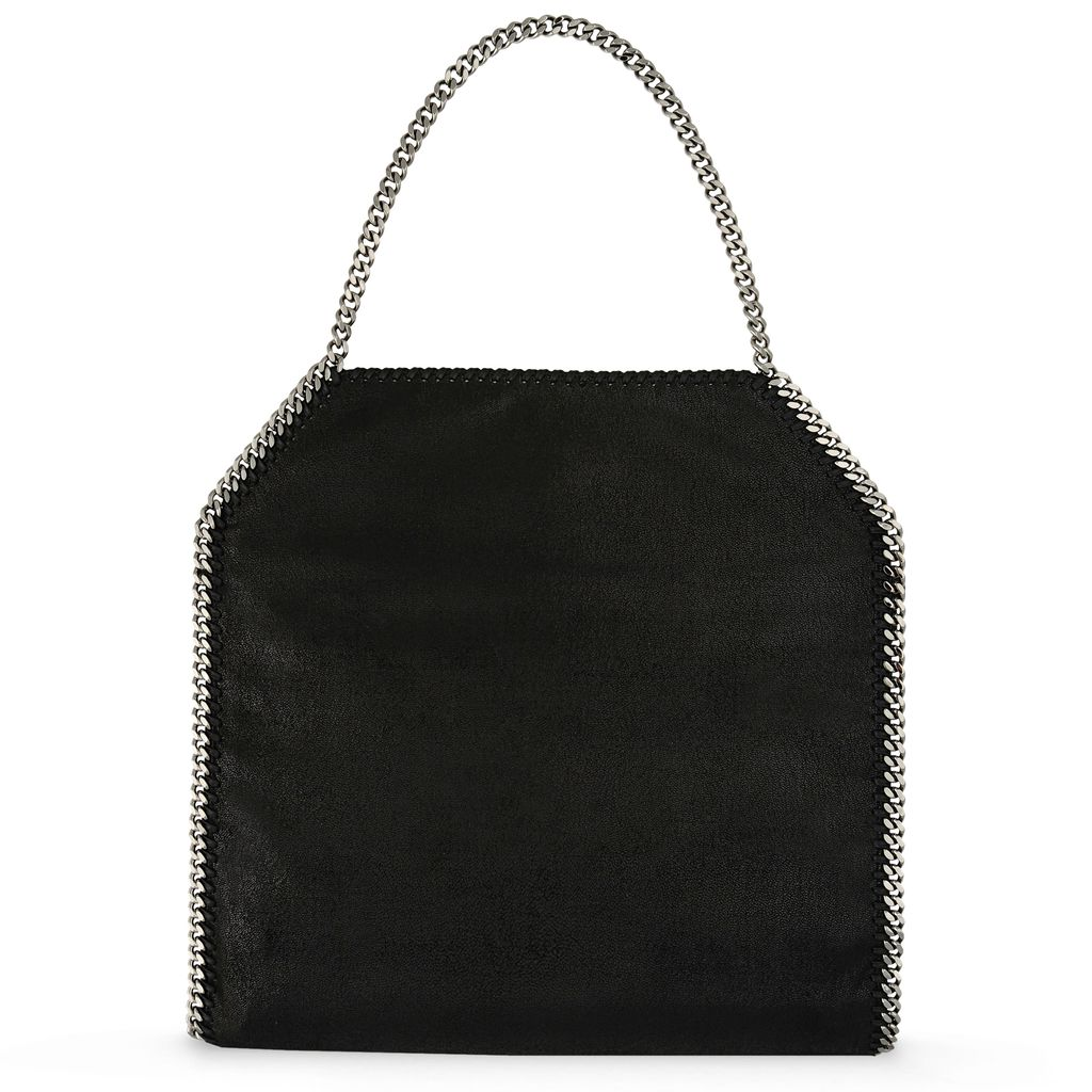 Light Grey Falabella Shaggy Deer Big Tote  - STELLA MCCARTNEY