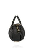 ALEXANDER WANG ROCKIE IN PEBBLED BLACK WITH ANTIQUE BRASS Shoulder bag Adult 8_n_e