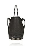 ALEXANDER WANG DIEGO IN BLACK PEBBLE LEATHER WITH BLACK NICKEL Shoulder bag Adult 8_n_d