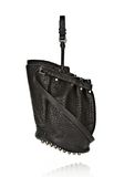 ALEXANDER WANG DIEGO IN BLACK PEBBLE LEATHER WITH BLACK NICKEL Shoulder bag Adult 8_n_e