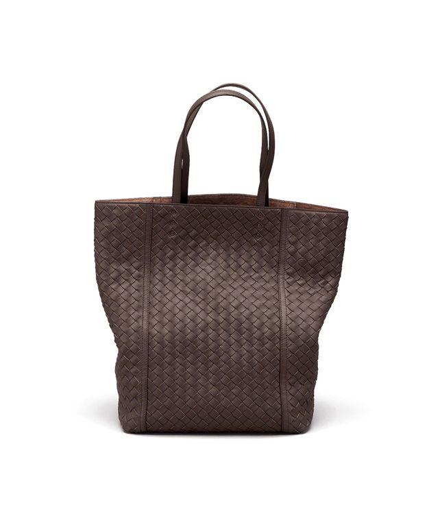 BOTTEGA VENETA TOTE BAG AUS INTRECCIATO NAPPA IN EBANO Shopper D fp