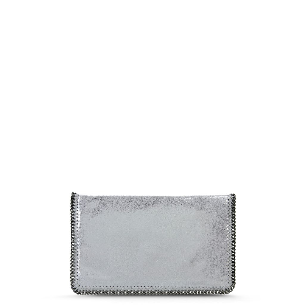 Falabella Chamois Fold Over Clutch  - STELLA MCCARTNEY