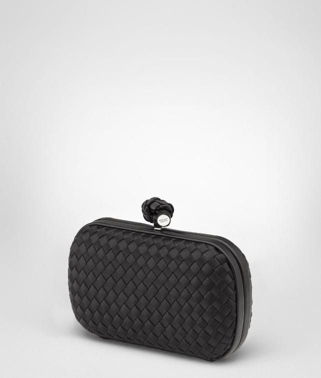 BOTTEGA VENETA Satin Knot Clutch D fp