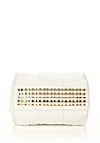 ALEXANDER WANG ROCCO IN SOFT PEROXIDE WITH PALE GOLD Shoulder bag Adult 8_n_e
