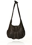 ALEXANDER WANG DONNA IN WASHED BLACK WITH RHODIUM  Shoulder bag Adult 8_n_d