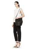 ALEXANDER WANG DIEGO IN BLACK PEBBLE LEATHER WITH MATTE BLACK Shoulder bag Adult 8_n_r
