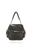 ALEXANDER WANG JANE IN BLACK WASHED LAMB  WITH RHODIUM  Shoulder bag Adult 8_n_f