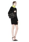 ALEXANDER WANG JANE IN BLACK WASHED LAMB  WITH RHODIUM  Shoulder bag Adult 8_n_r