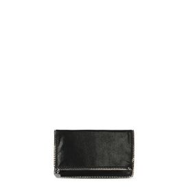 STELLA McCARTNEY Pochette Falabella D Falabella Fold Over Clutch in Shaggy Deer f