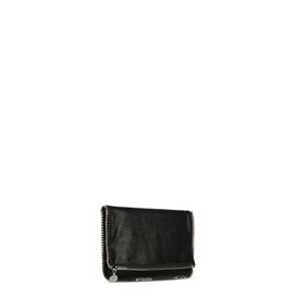 Falabella Fold Over Clutch in Shaggy Deer