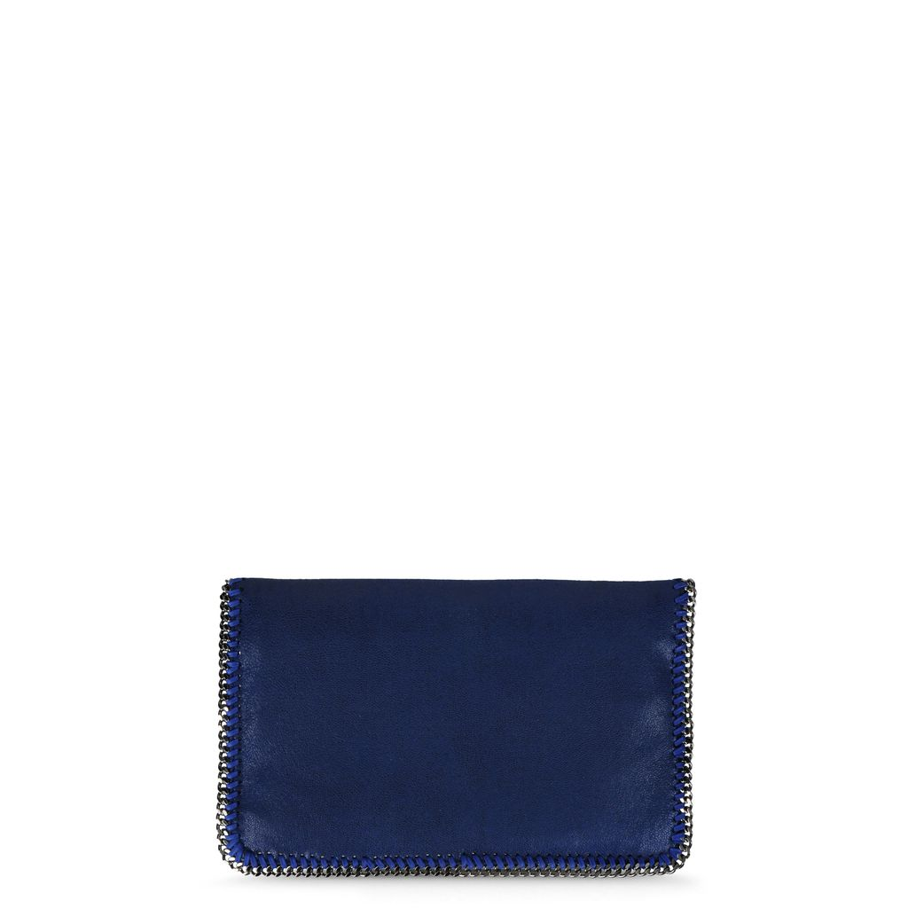 Falabella Shaggy Deer Fold Over Clutch  - STELLA MCCARTNEY