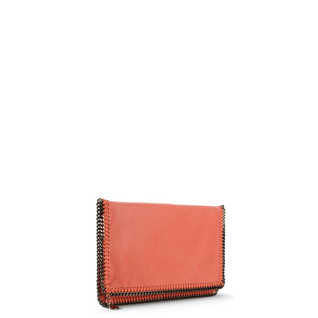 Falabella Fold Over Clutch in Shaggy Deer  - STELLA MCCARTNEY