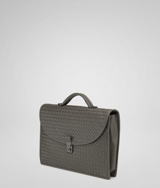 BOTTEGA VENETA Intrecciato Light Calf Briefcase Business bag U fp