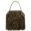 STELLA McCARTNEY Clutch Falabella à franges Tote bag D d