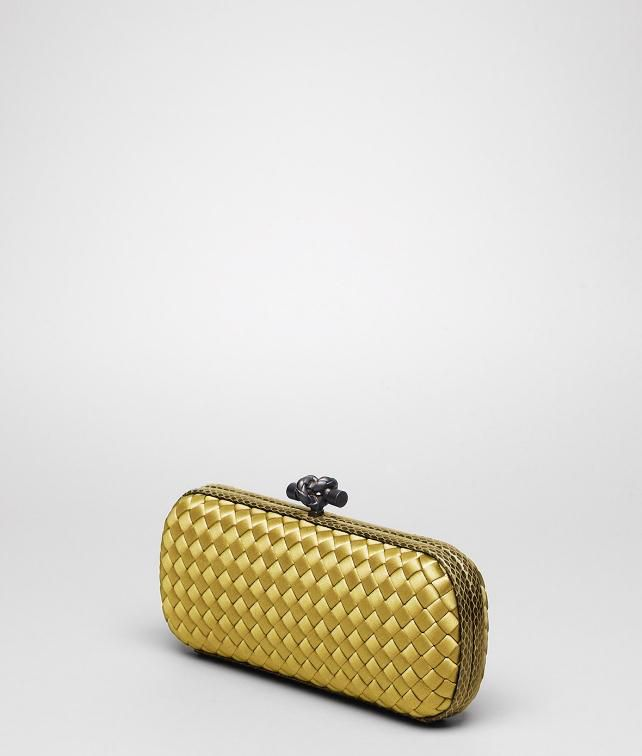cde1896276d BOTTEGA VENETA Intreccio Impero Ayers Stretch Knot Clutch       pickupInStoreShipping info