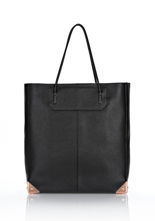 ALEXANDER WANG PRISMA TOTE IN PRINTED BLACK WITH ROSE GOLD TOTE/DEL Adult 12_n_f
