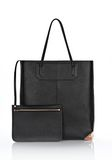 ALEXANDER WANG PRISMA TOTE IN PRINTED BLACK WITH ROSE GOLD TOTE/DEL Adult 8_n_e