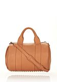 ALEXANDER WANG ROCCO IN TAN SOFT PEBBLE LAMB WITH PALE GOLD Shoulder bag Adult 8_n_f