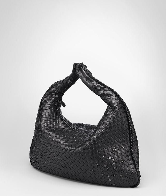 BOTTEGA VENETA Intrecciato Nappa Eyelets Large Veneta Shoulder or hobo bag D fp