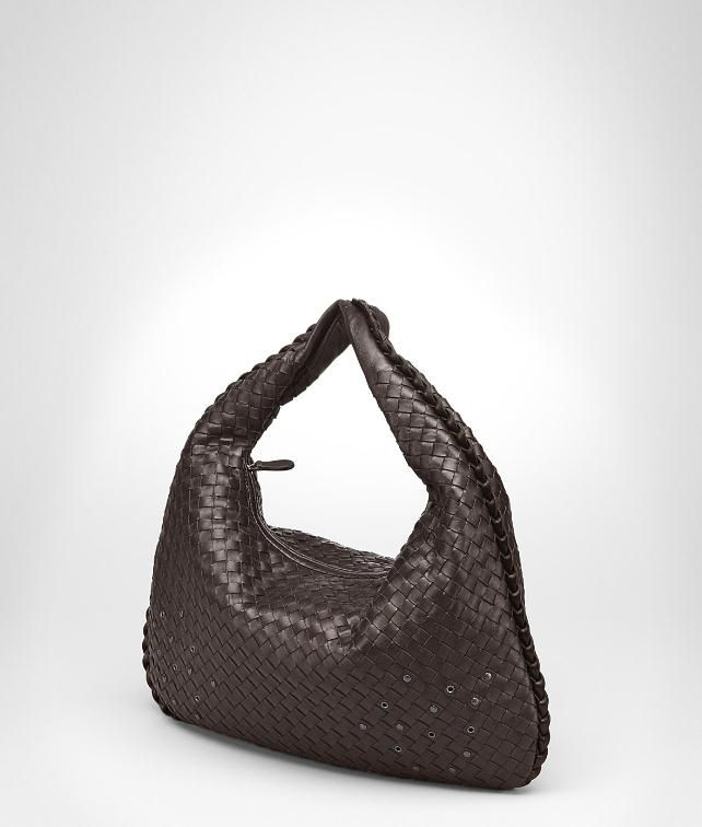 BOTTEGA VENETA Intrecciato Nappa Eyelets Veneta Shoulder or hobo bag D fp