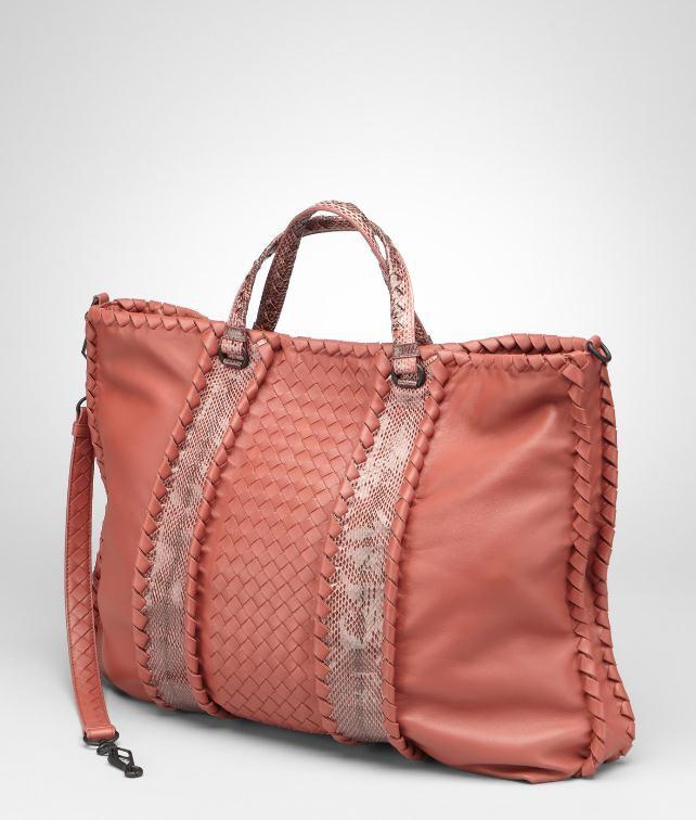 BOTTEGA VENETA Intrecciato Nappa Ayers Bag Top Handle Bag D fp