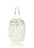 ALEXANDER WANG DIEGO IN SOFT PEROXIDE PEBBLE LEATHER WITH PALE GOLD Shoulder bag Adult 8_n_f