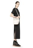 ALEXANDER WANG DIEGO IN SOFT PEROXIDE PEBBLE LEATHER WITH PALE GOLD Shoulder bag Adult 8_n_r