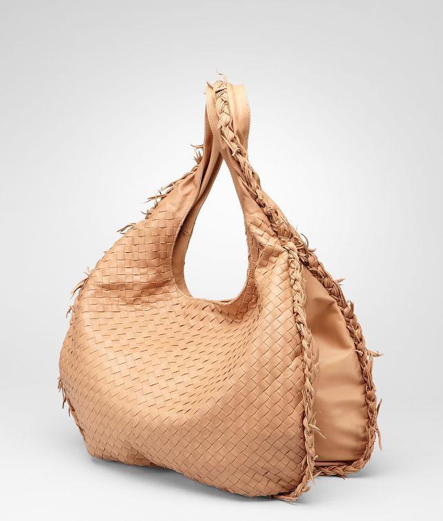 BOTTEGA VENETA Intrecciato Waxed Leather Duo Hobo Shoulder or hobo bag D fp