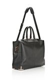 ALEXANDER WANG PRISMA SKELETAL BLACK BRIEFCASE WITH ROSEGOLD TOTE Adult 8_n_e