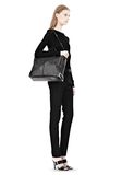 ALEXANDER WANG PRISMA SKELETAL BLACK BRIEFCASE WITH ROSEGOLD TOTE Adult 8_n_r
