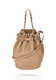 ALEXANDER WANG DIEGO IN LATTE PEBBLE LAMB WITH ROSE GOLD Shoulder bag Adult 8_n_f