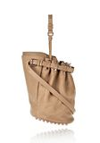 ALEXANDER WANG DIEGO IN LATTE PEBBLE LAMB WITH ROSE GOLD Shoulder bag Adult 8_n_r