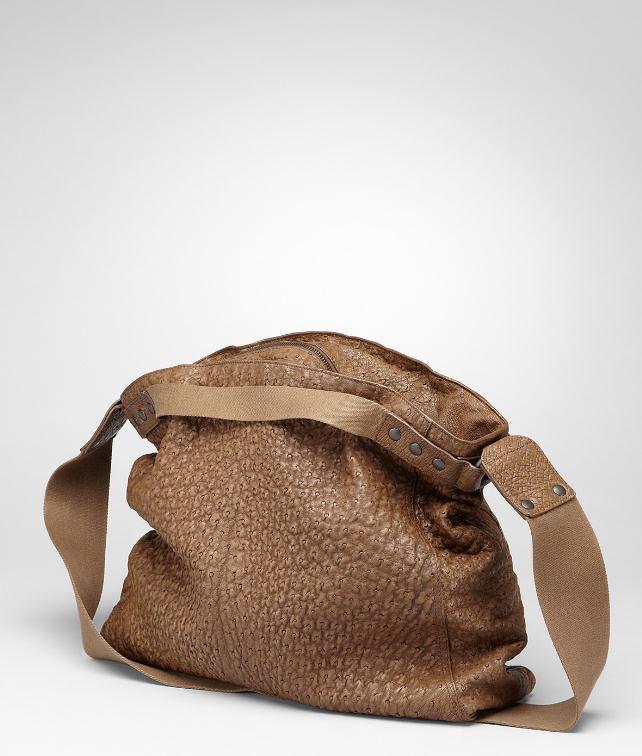 971cda68145a BOTTEGA VENETA Washed Antique Ostrich Cross Body Bag Messenger Bag       pickupInStoreShippingNotGuaranteed info