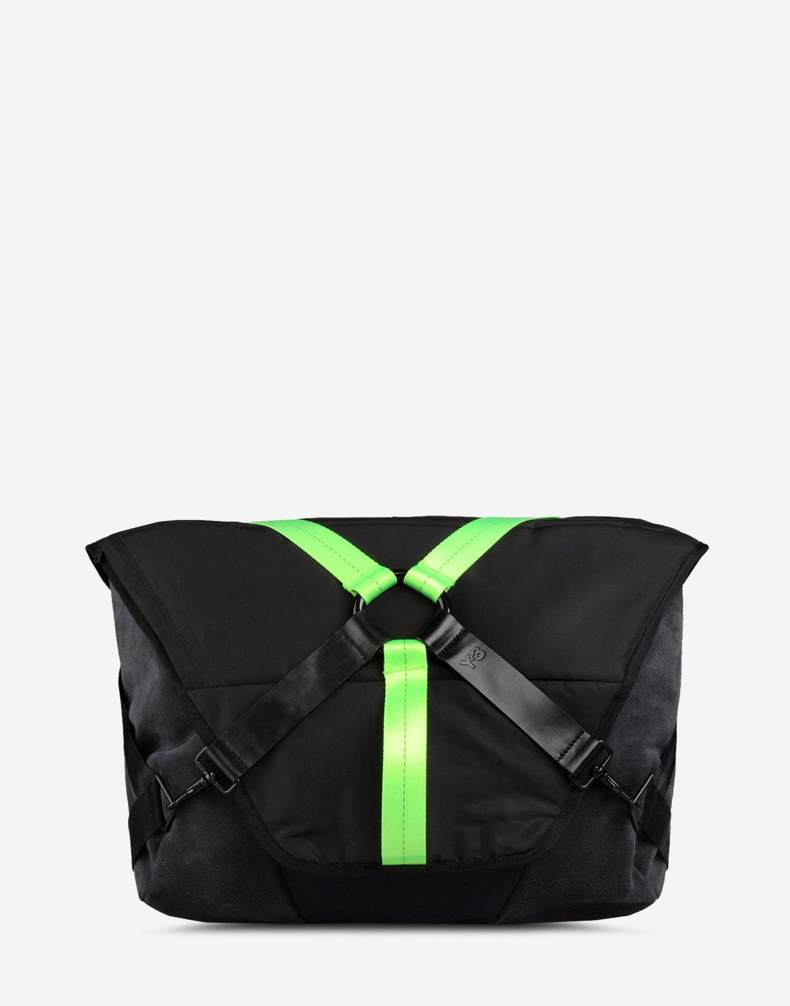 ... Y-3 Y-3 Seasonal Messenger Bag Large fabric bag Man f ... c583ff5e74cfd