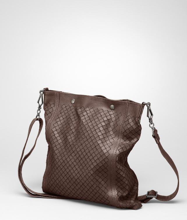 BOTTEGA VENETA Intreccio Collage Cross Body Bag Messenger Bag U fp