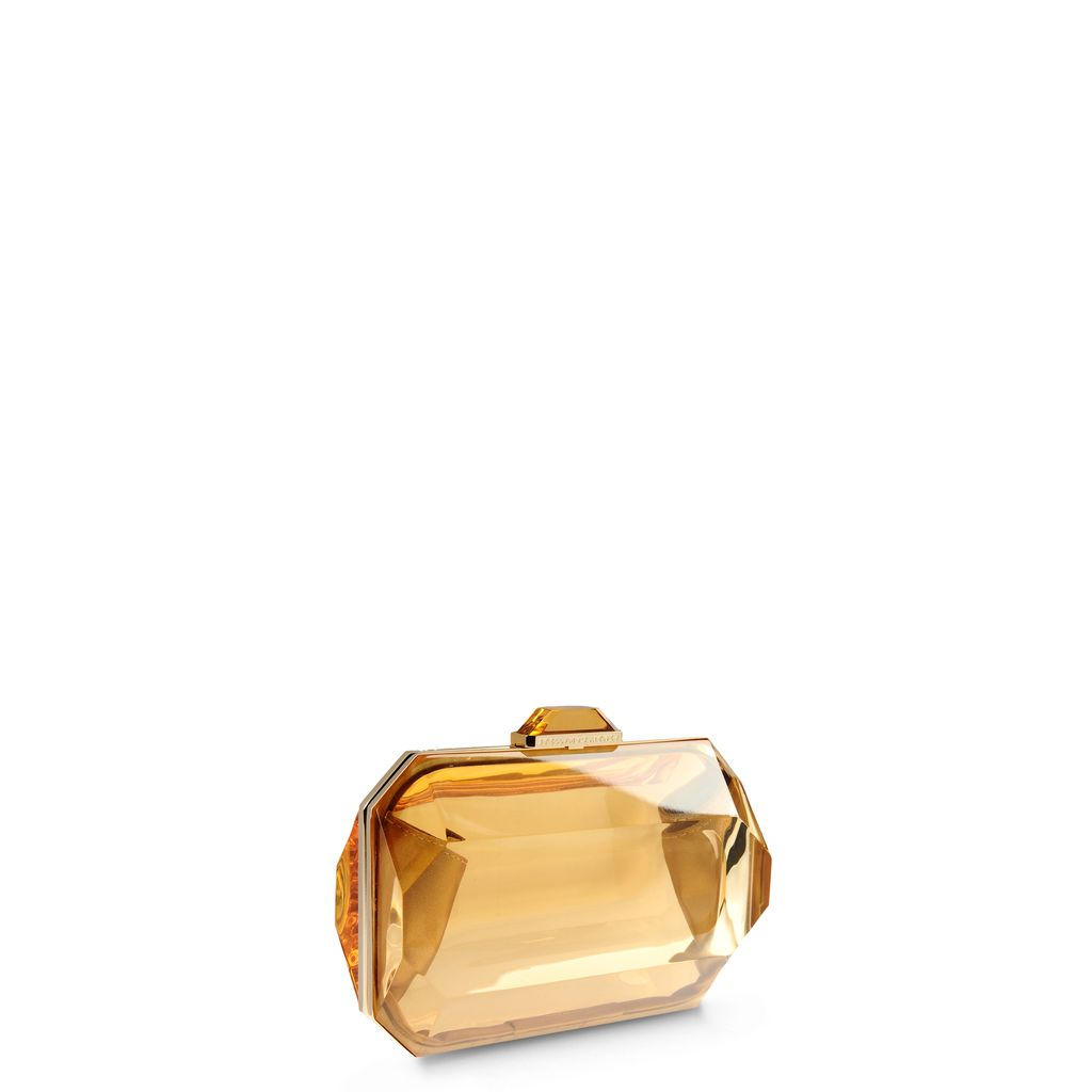 Lucia Plexi Clutch  - STELLA MCCARTNEY