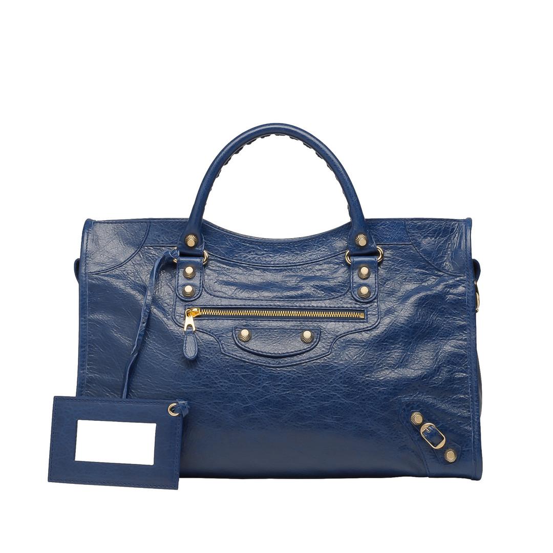 BALENCIAGA Balenciaga Giant 12 Gold City Top handle bag D f