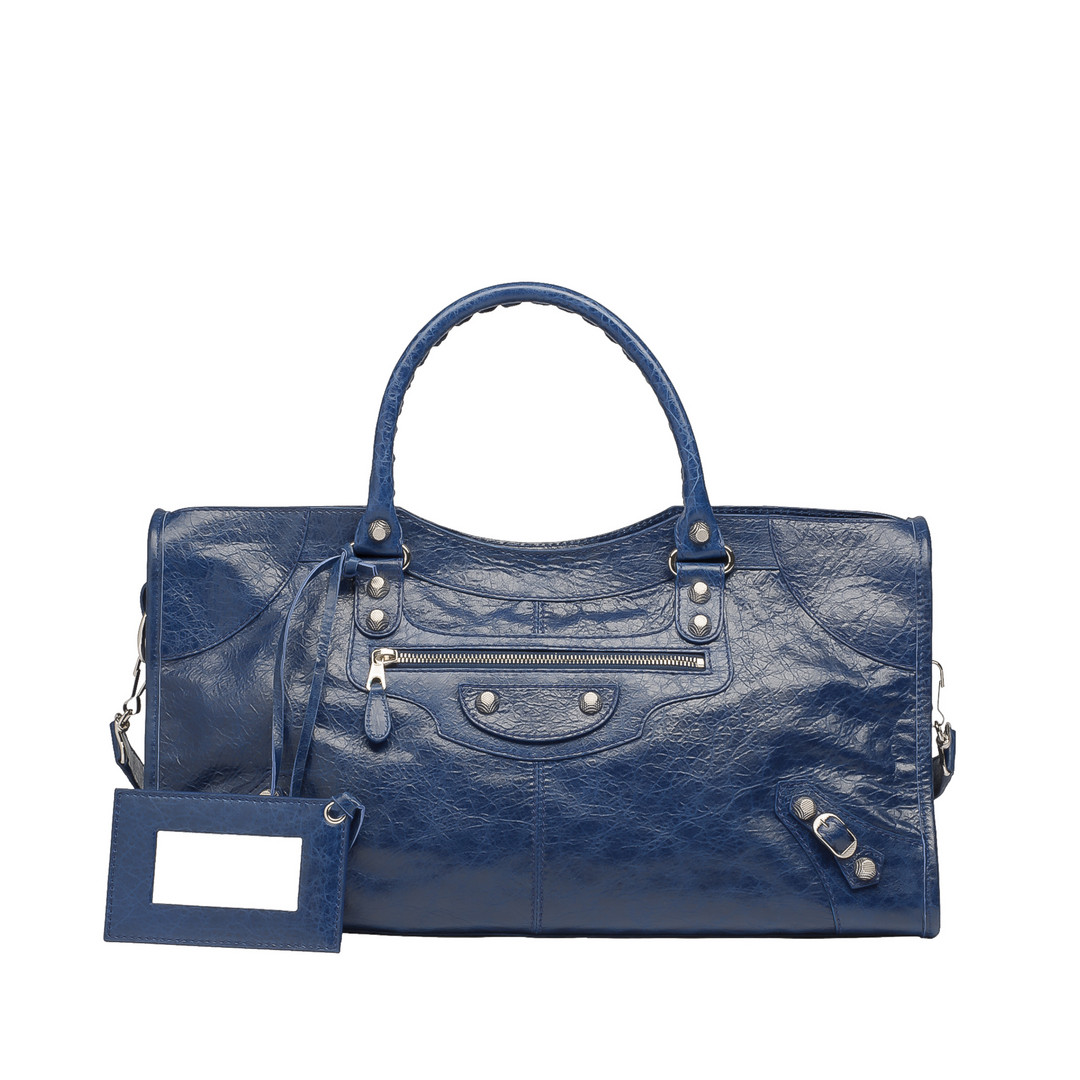 BALENCIAGA Balenciaga Giant 12 Silver Part Time Top handle bag D f