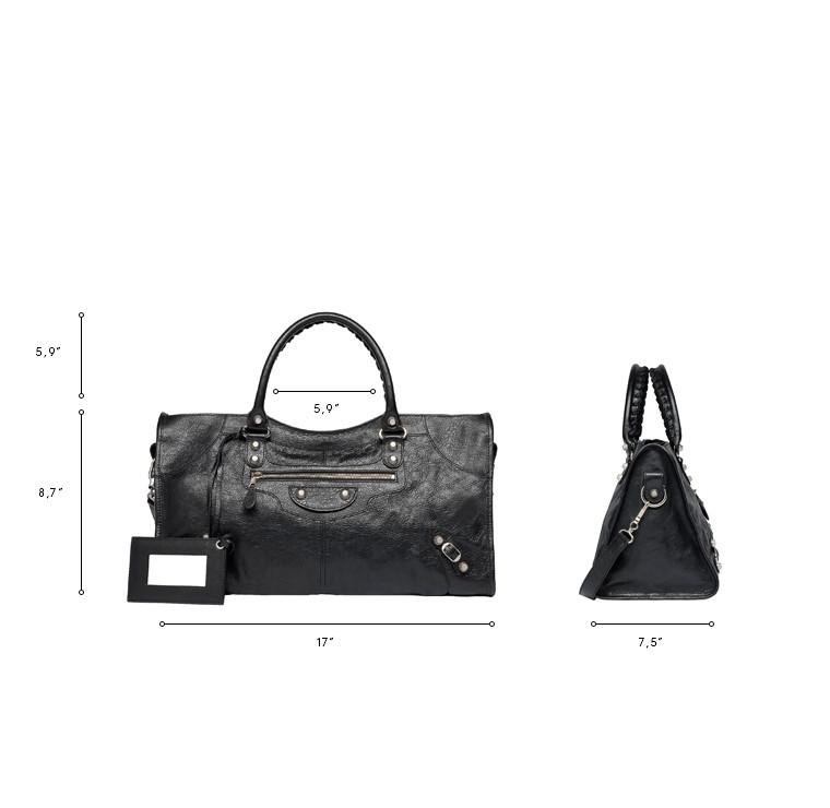BALENCIAGA Top handle bag D Balenciaga Giant 12 Silver Part Time n