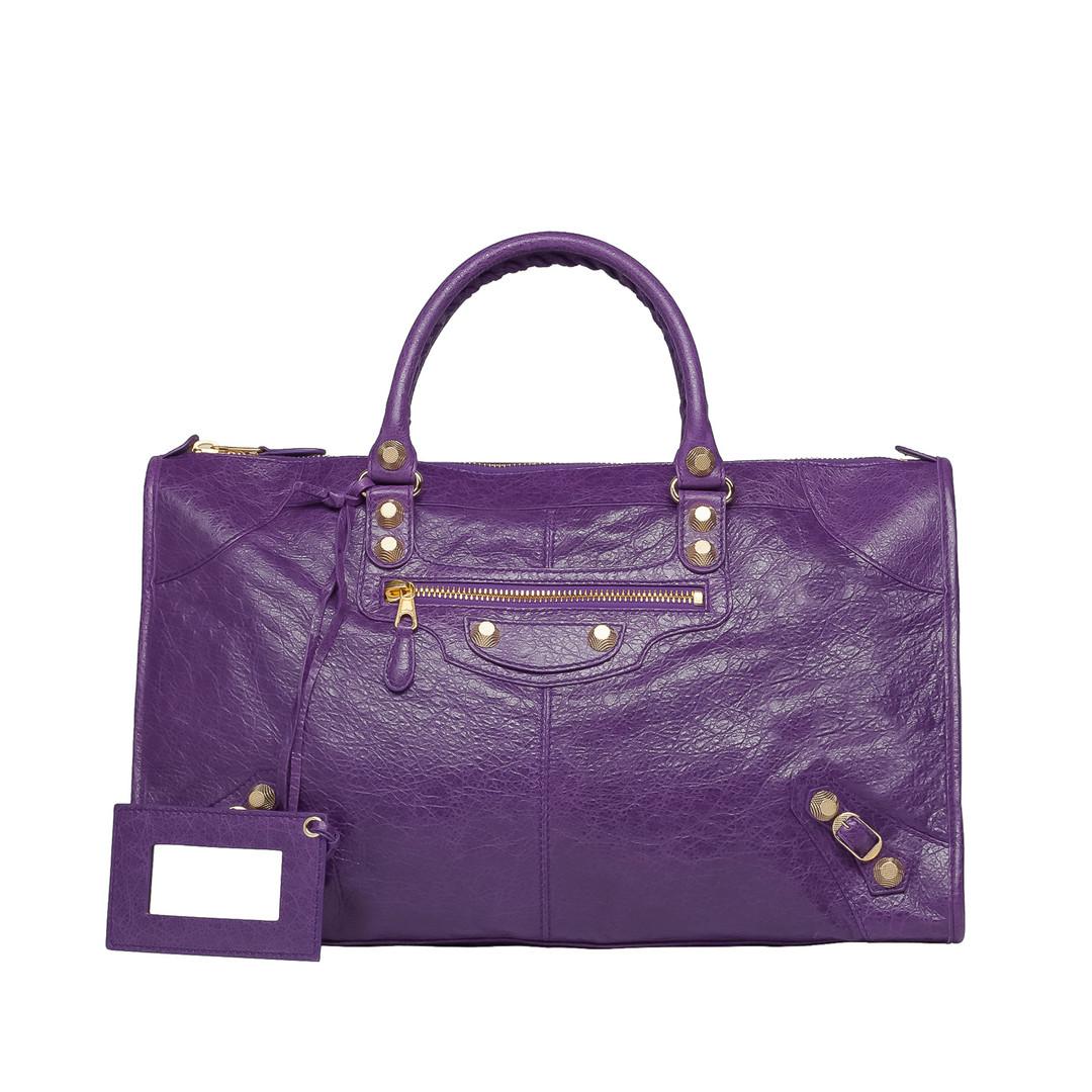 BALENCIAGA Balenciaga Giant 12 Work Gold Tote Bag D f