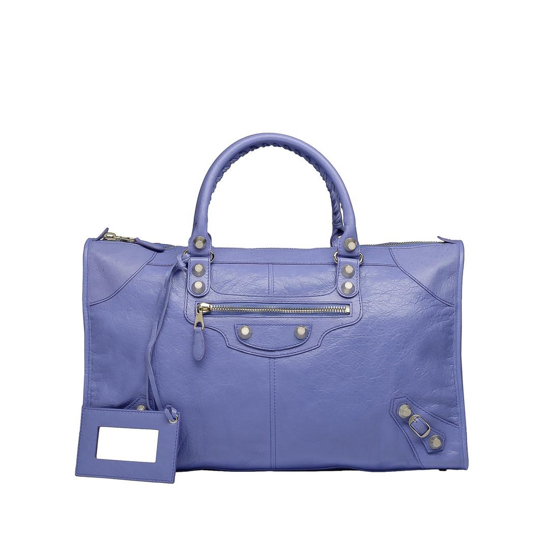 BALENCIAGA Balenciaga Giant 12 Work Silber Tote Bag D f